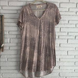 Cloth & Stone Animal printed Jersey dress